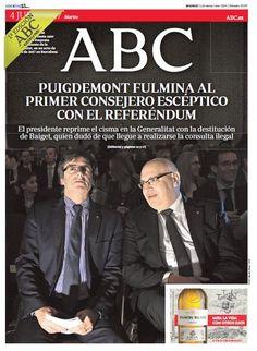 La portada de ABC del martes 4 de julio