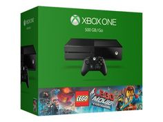 Microsoft Xbox One - The LEGO Movie Videogame Bundle - game console - 500 GB HDD - black