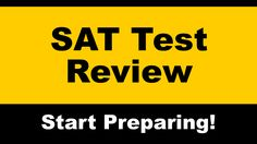 Free online video review for the SAT test. Explore our collection of test prep videos and understand the important subjects on the SAT exam.  #sattest