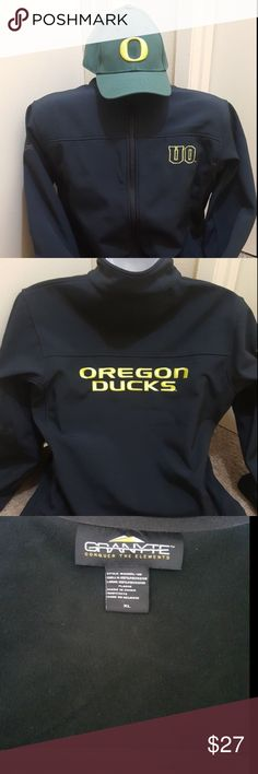 Oregon Duck XL Black Jacket with FREE Dri Fit Oregon Duck XL Black Jacket with FREE Dri Fit Nike Snap Back Hat Jackets & Coats
