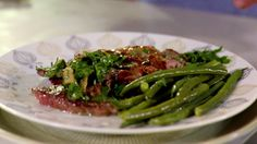 Veal Saltimbocca: http://gustotv.com/recipes/lunch/veal-saltimbocca/