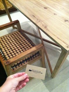 Materials Class: Cork - A Stool made from wine corks by WOLD & MAIDEN