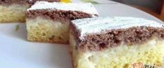 """Apple pudding cake """"day and night"""" Easy Cake Recipes, Baking Recipes, Dessert Recipes, Tuna Cakes, Food Cakes, Apple Deserts, German Cake, Cake Day, Different Cakes"""
