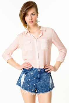 rosé blouse. Tally Germany
