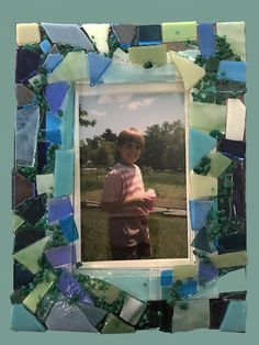 New class: Make a fused glass frame!