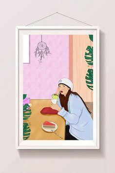 Daily illustration of lifestyle food Food Template, Templates, Food Illustrations, Lifestyle, Free, Design, Stencils, Vorlage