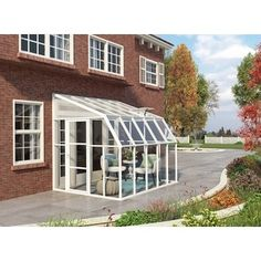 Palram 8x10 Sun Room | Overstock.com Shopping - The Best Deals on Greenhouses