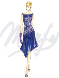 Sewing pattern Evening Gowns 3170