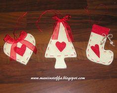 felt ornaments