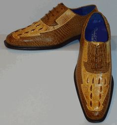 Mens Great Color Combo Scotch Brown 2-Tone Hornback Shoes Roberto Chillini 6540 Men Dress, Dress Shoes, Puma Platform, Scotch, Color Combos, Brown, Sneakers, Fashion, Tennis