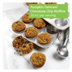 Fun and Flavorful Pumpkin Chocolate Chip Muffins