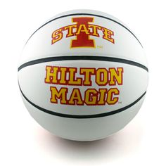 Autographable Hilton Magic basketball.