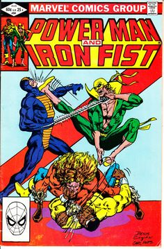Power Man and Iron Fist 1972 Hero for Hire 84 by ViewObscura