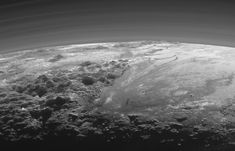 A plutonian landscape. Explanation.  Clicking on the picture will download  the highest resolution version available.
