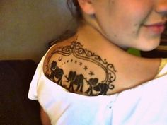 Elephant family on back