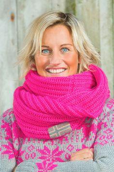 Barfota Love Norway strikket hals, rosa