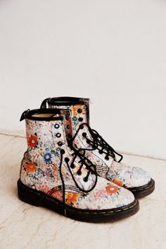 floral dr martens | my favourite things ...