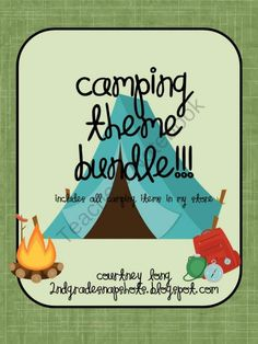 Camping Theme BUNDLE!  225 pages of everything you need to turn your classroom into a campsite :)