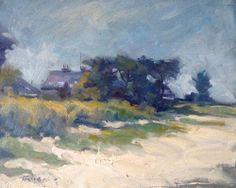 Plein Air Landscapes  Burrow Beach, Sutton by Norman Teeling on ArtClick.ie