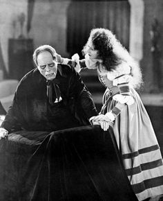 "Silent Still: Lon Chaney Sr. and Mary Philbin in ""The Phantom of the Opera"" (1925)"