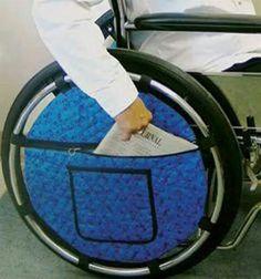 bolsa silla rueda