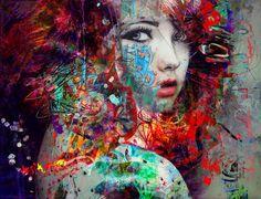 Yossi Kotler KunstNeugier von yossikotlerart auf Etsy