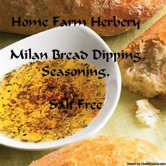 Milan Bread Dipping Seasoning, Salt Free, FREE shipping, FREE giftAt Home Farm Herbery we love this great Gourmet bread dipping oil and seasoning blend we created as it can turn just about any home cooked Italian meal into a gourmet delight and our bread dipping seasoning is inspired by Milan.In most parts of Italy it's a fairly rare occurrence to regularly find a bowl of olive oil placed on a restaurant table. This would generally be considered a waste of premium quality oil as Italians ...