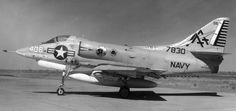 A-4C Skyhawk (VA-15 / CVW-17) se embarcó en USS Forrestal (CVA 59) - mediados de 1968 a 1969 (cortesía del Museo Nacional de la Aviación Naval)