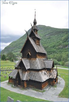 nice BORGUND STAVE CHURCH  NORWAY