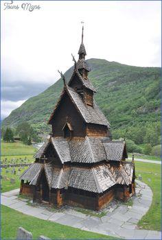 nice BORGUND STAVE CHURCH  NORWAY