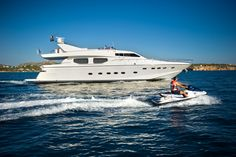 """Cape 4  Charters """"m/y Dilias"""" #yacht #charter #Greece"""