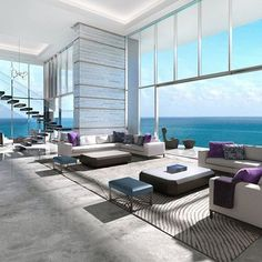 Miami Penthouse Rate this penthouse 1-10! Follow to be a part of the @Boss_Livings Nation! Photo via @iglesiasrealtygroup  All credit goes to the photographer/owner; I do not own this