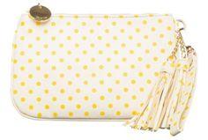 Deux Lux Gigi Wristlet in yellow