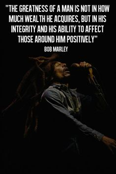 Bob Marley quote Positive Vibrations YEAH POSITIVE !