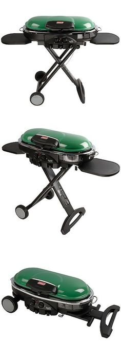 Camping BBQs and Grills 181388: Coleman Road Trip Propane Portable Grill Lxe Green . -> BUY IT NOW ONLY: $171.73 on eBay! http://grillidea.com/best-portable-outdoor-grills/