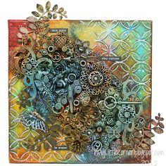 http://inmylittlekorner.blogspot.ie/2015/09/mixed-media-dream-canvas.html