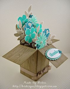 addINKtive designs: A Card in a Box from H2