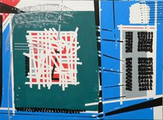 Helmut Heinze 2011 - Fenster mit Ausblick 2011 I 1,50 m x 1,11 m I Acryl auf Leinwand www.heinzeart.de