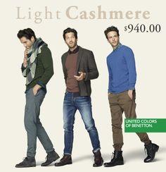 ¿Ya fueron por su sweater en Light Cashmere de Benetton Antara a muy buen precio?