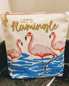 Let's Flamingle 🌸 Bath and Body Works Pouch Let's Flamingle, Flamingo Gifts, Retreat Ideas, Happy Today, Pink Bird, Mattress Springs, Pink Flamingos, Spirit Animal, Bath And Body Works