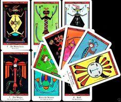 NEU! SANTA FE Tarot Indianer Navajo US Games Tarotspiel Tarotkarten Tarot Deck