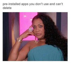 Then I leave all the negative reviews for each preinstalled app...