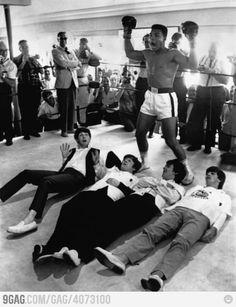 Just Muhammad Ali kicking The Beatles asses