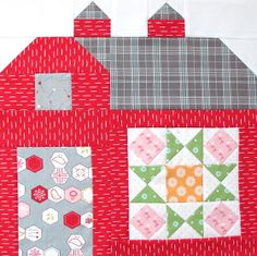 Bee In My Bonnet: The Quilty Barn Along 10...and a Summer Star Block Tutorial!!!
