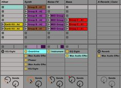 Secret Ableton Live feature: How to show track devices in the session view! Home Recording Studio Equipment, Music Production Equipment, Music Software, Ableton Live, Home Studio Music, Recorder Music, Live Show, Musical, Track