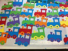 Tjoeke tjoek!!! Trein op een knijper www.hiephoeraiktrakteer.nl