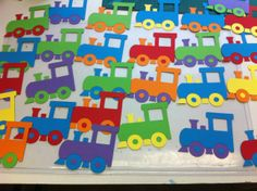 Tjoeke tjoek!!! Trein op een knijper www.hiephoeraiktrakteer.nl Thomas The Train, Happy Birthday, Kids Rugs, Party, Gifts, Craft, Transportation, Train, Games