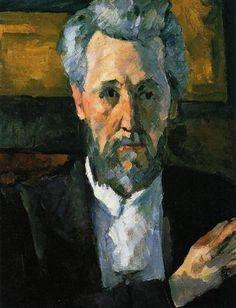Portrait of Victor Chocquet - Paul Cezanne