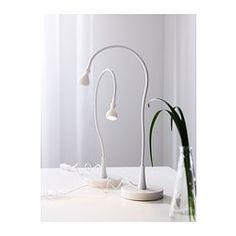 Blanco - - IKEA luz del trabajo del LED JANSJÖ