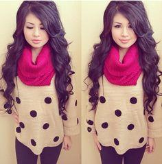 Hair<3<3 Cute outfit!
